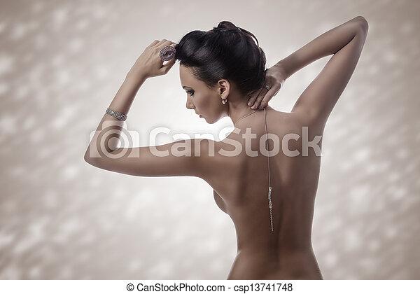 brunette Free hair nude