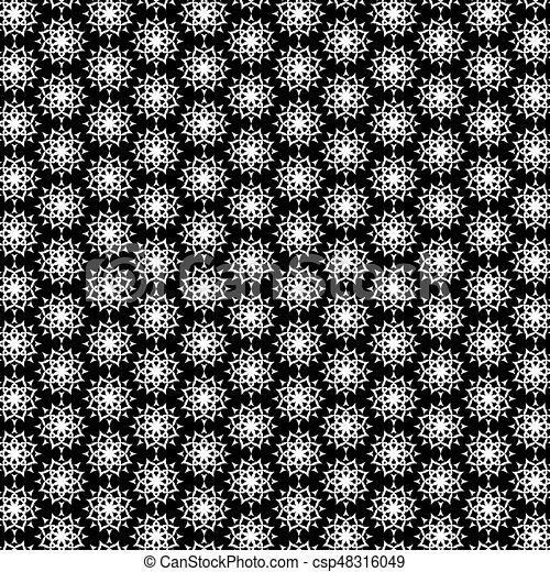 Sfondo Bianco Nero Astratto Fiore Fiore Modello Astratto
