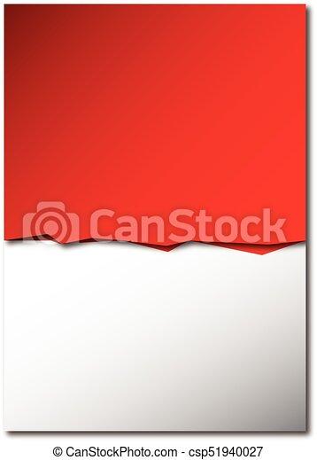 Sfondo Bianco Rosso