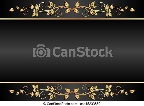 sfondo nero - csp15233862