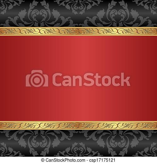 sfondo rosso - csp17175121
