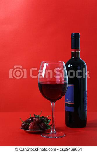 Vetro Sfondo Rosso Vino
