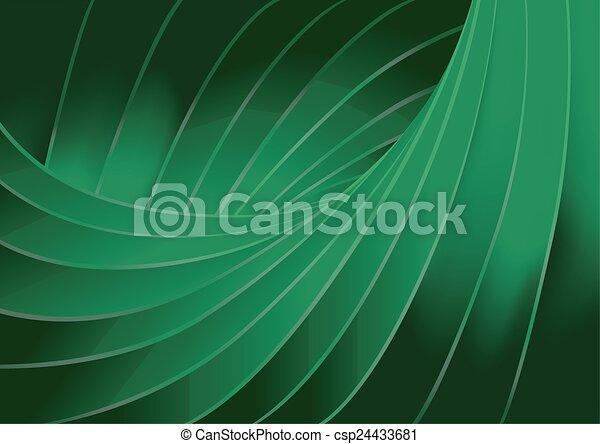 sfondo verde, struttura - csp24433681