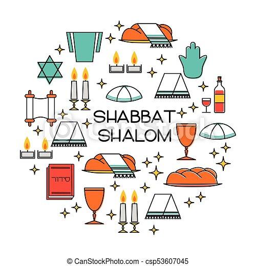 Shabbat shalom greeting card star of david candles eps vector shabbat shalom greeting card csp53607045 thecheapjerseys Choice Image