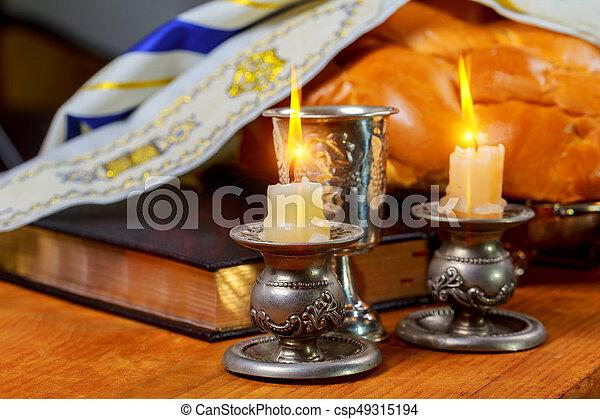 Shabbat shalom traditional jewish sabbath ritual challah bread wine shabbat shalom traditional jewish sabbath ritual challah bread wine csp49315194 thecheapjerseys Image collections