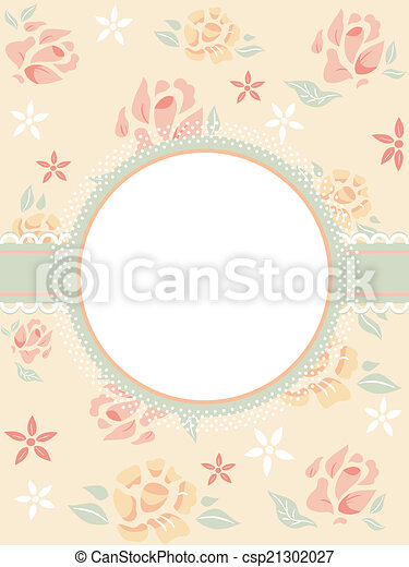 Shabby chic frame. Illustration featuring a frame with a shabby chic ...