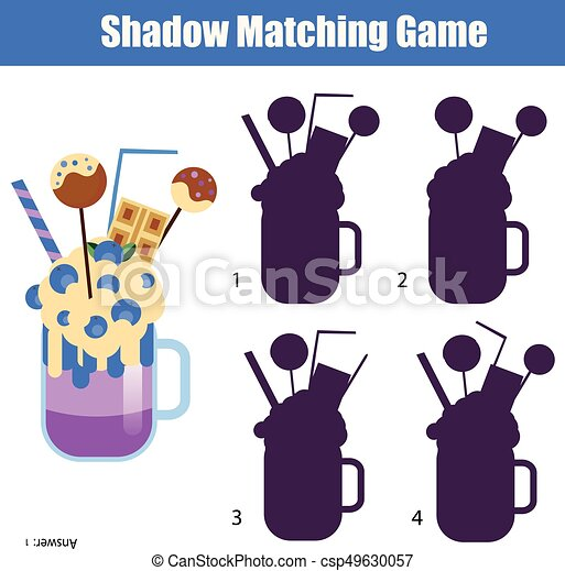 school matching game