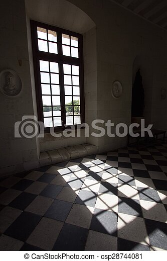 A View Of Light Shadow Window