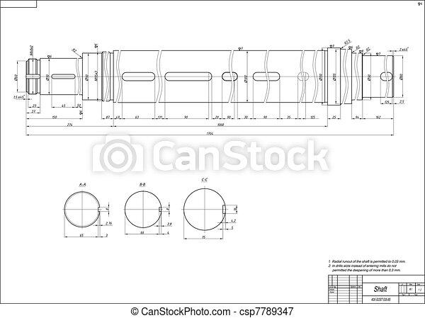 Shaft - csp7789347