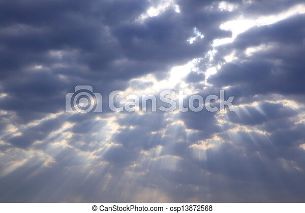Shaft of light - csp13872568