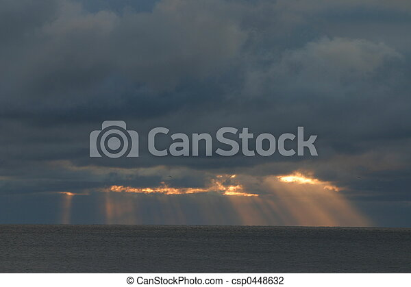 Shafts of Light - csp0448632