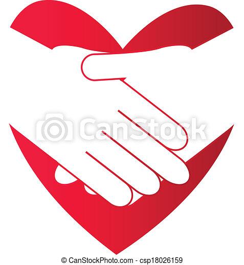 shake hands - csp18026159