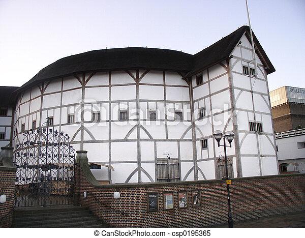 Shakespear\\\'s Globe - csp0195365