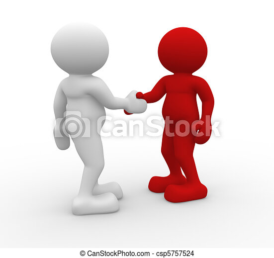 Shaking hands - csp5757524
