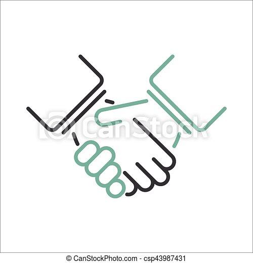shaking hands vector shaking hands business handshake partnership rh canstockphoto com shaking hands vector png shaking hands vector icon free