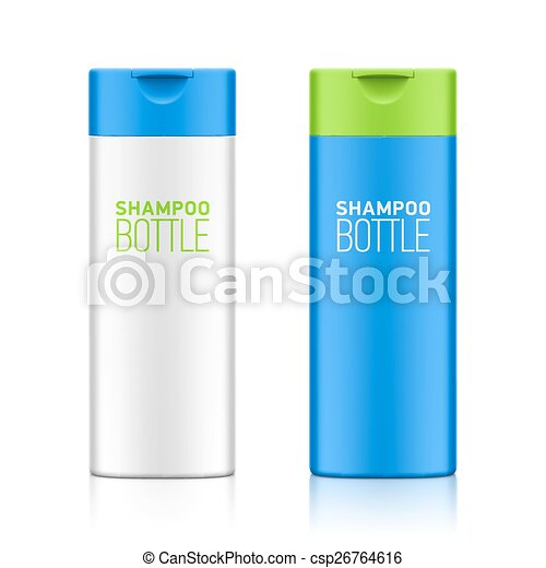 Shampoo bottle template - csp26764616