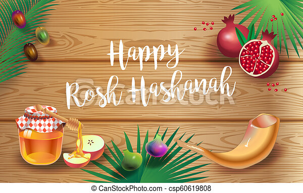 Shana tova happy jewish new year rosh hashanah greeting card rosh shana tova happy jewish new year rosh hashanah greeting card csp60619808 m4hsunfo