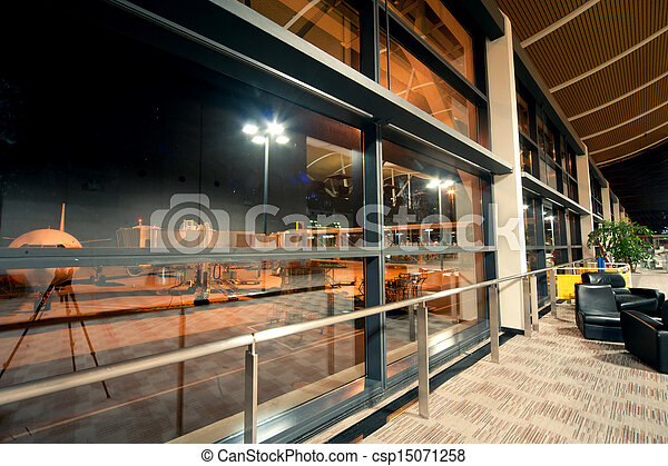 Shanghai airport lounge - csp15071258