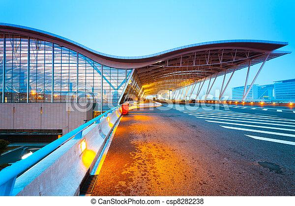 shanghai airport - csp8282238
