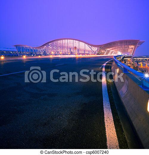 shanghai airport - csp6007240