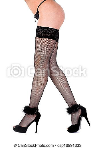 shapely legs - csp18991833