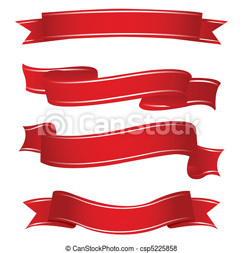 shapes of ribbons - csp5225858