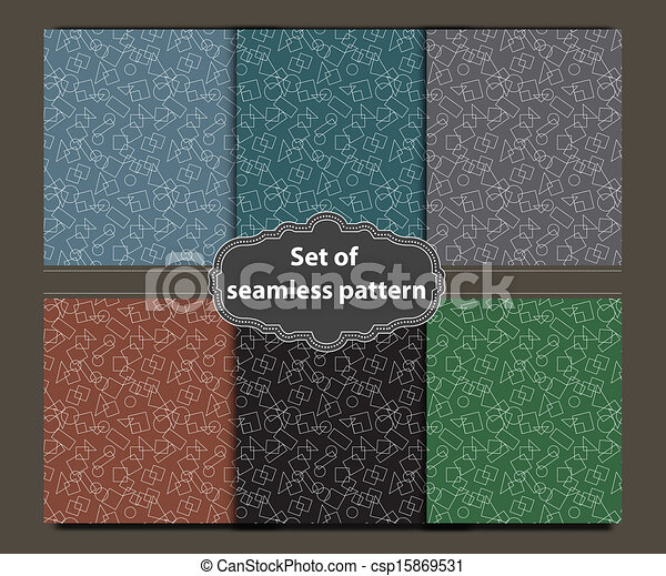 shapes pattern - csp15869531
