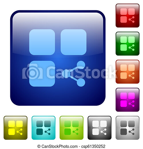Share component color square buttons - csp61350252