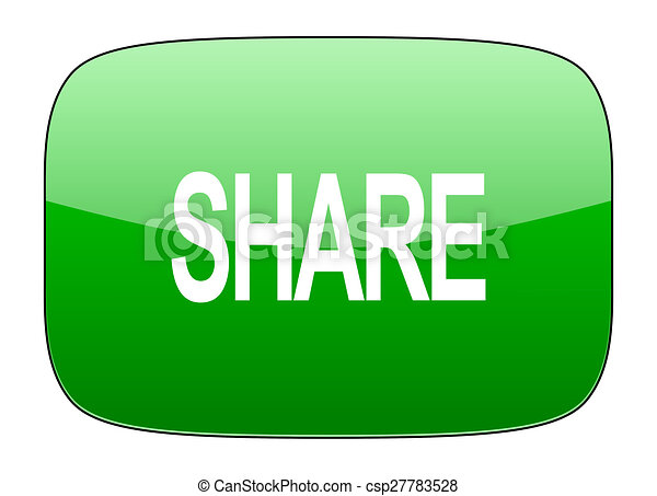 share green icon - csp27783528