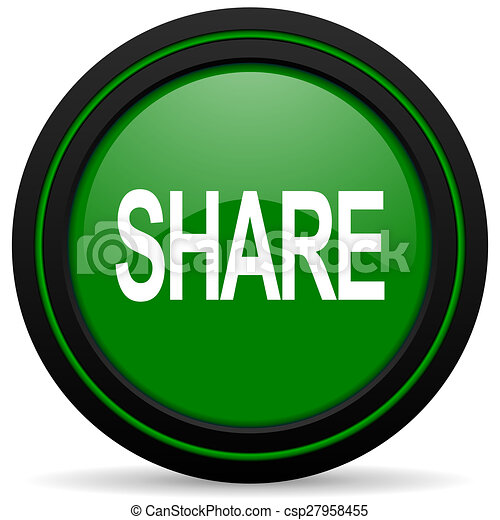 share green icon - csp27958455