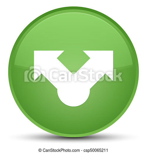 Share icon special soft green round button - csp50065211