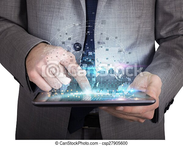 Share work  with tablet - csp27905600