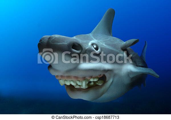 Shark Bite Outline Clip Art