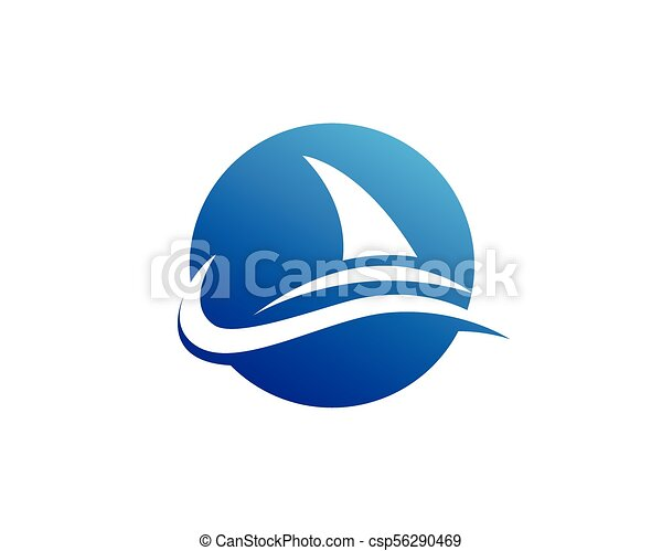 Shark Logo Template Creative Vector Symbol Of Fishing Club Clip