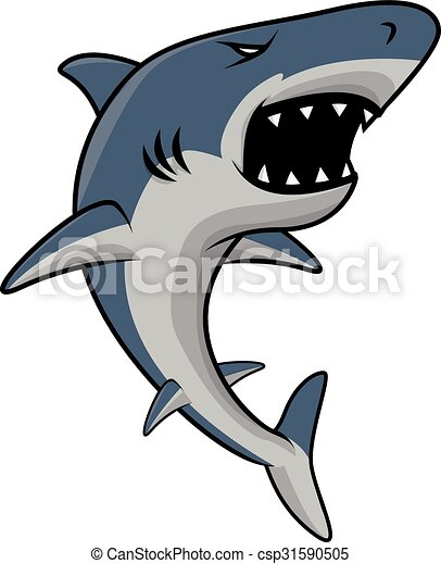 Shark jaws logo vector blue symbol illustration for text