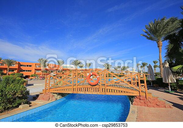 Sharm El Sheikh resort - csp29853753