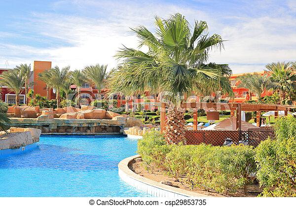 Sharm El Sheikh resort - csp29853735