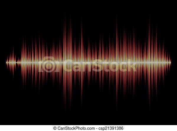 Sharp fire waveform - csp21391386