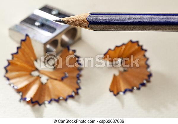 Sharpened pencil - csp62637086