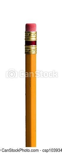 Sharpened pencil - csp1039346