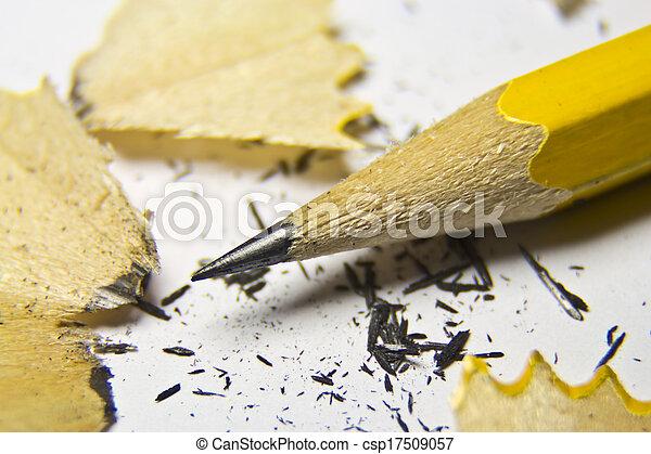 Sharpened pencil - csp17509057