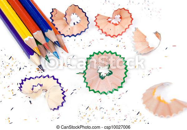 Sharpened pencil - csp10027006
