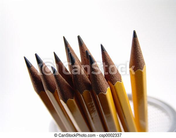 Sharpened Pencils - csp0002337