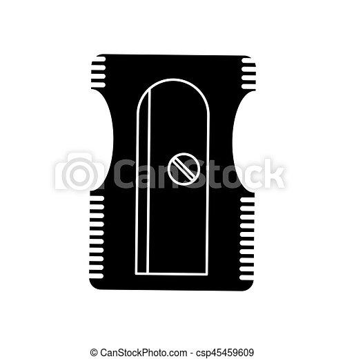 sharpener school utensil pictogram