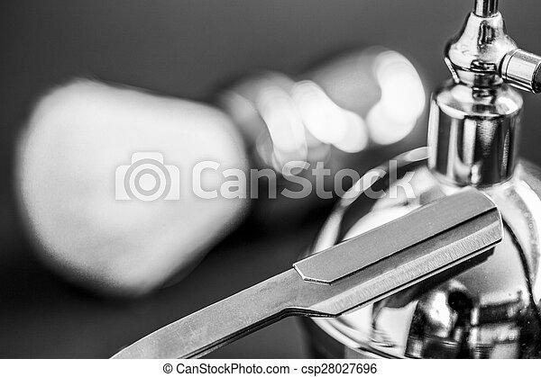 shaving brush - csp28027696