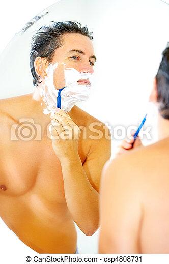 Shaving - csp4808731