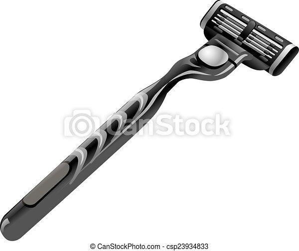 shaving razor - csp23934833