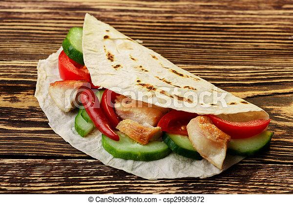 shawarma - csp29585872