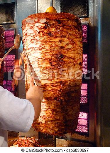 how to prepare chicken shawarma meat