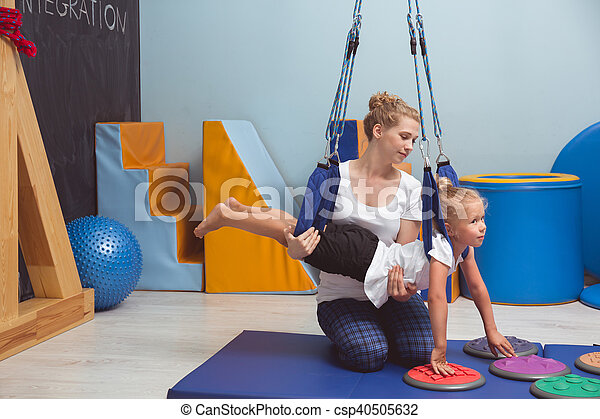 She prefers other exercises - csp40505632